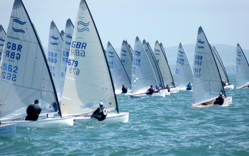 Start of race seven - Photo Claire ADB
