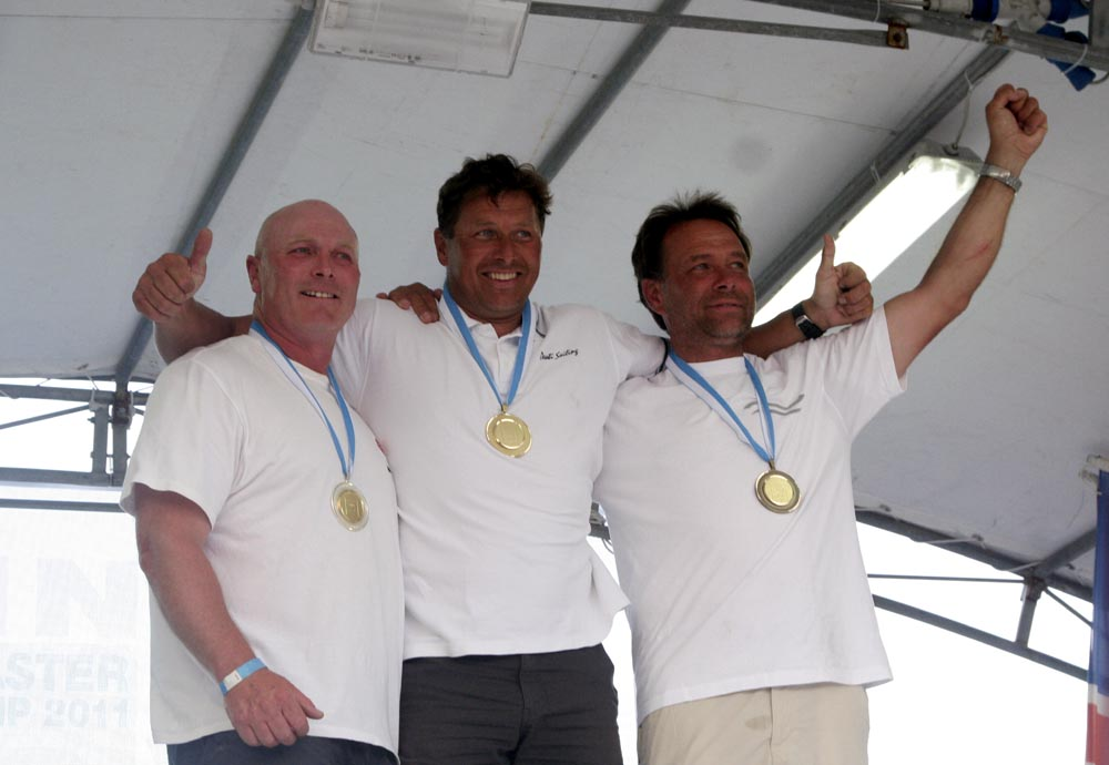 Top three - Allen Burrell, Michael Maier, Uli Breuer