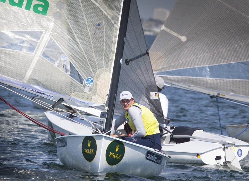 Giles Scott Day four - Pic Rolex/Daniel Forster